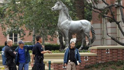 USC reels from Halloween party shooting
