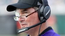 'I'll be back shortly, with one eye or two,' Vikings coach Mike Zimmer vows
