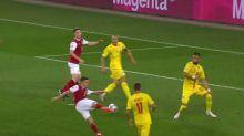 Foot - Ligue des nations : Les buts de Autriche - Roumanie