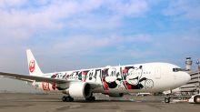 米奇90週年飛上天!JAL彩繪飛機太吸睛