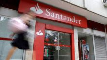 Santander posts 10 percent profit rise in first-quarter on Brazilian strength