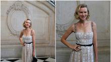 Naomi Watts y otras famosas que no se perdieron el desfile de Dior