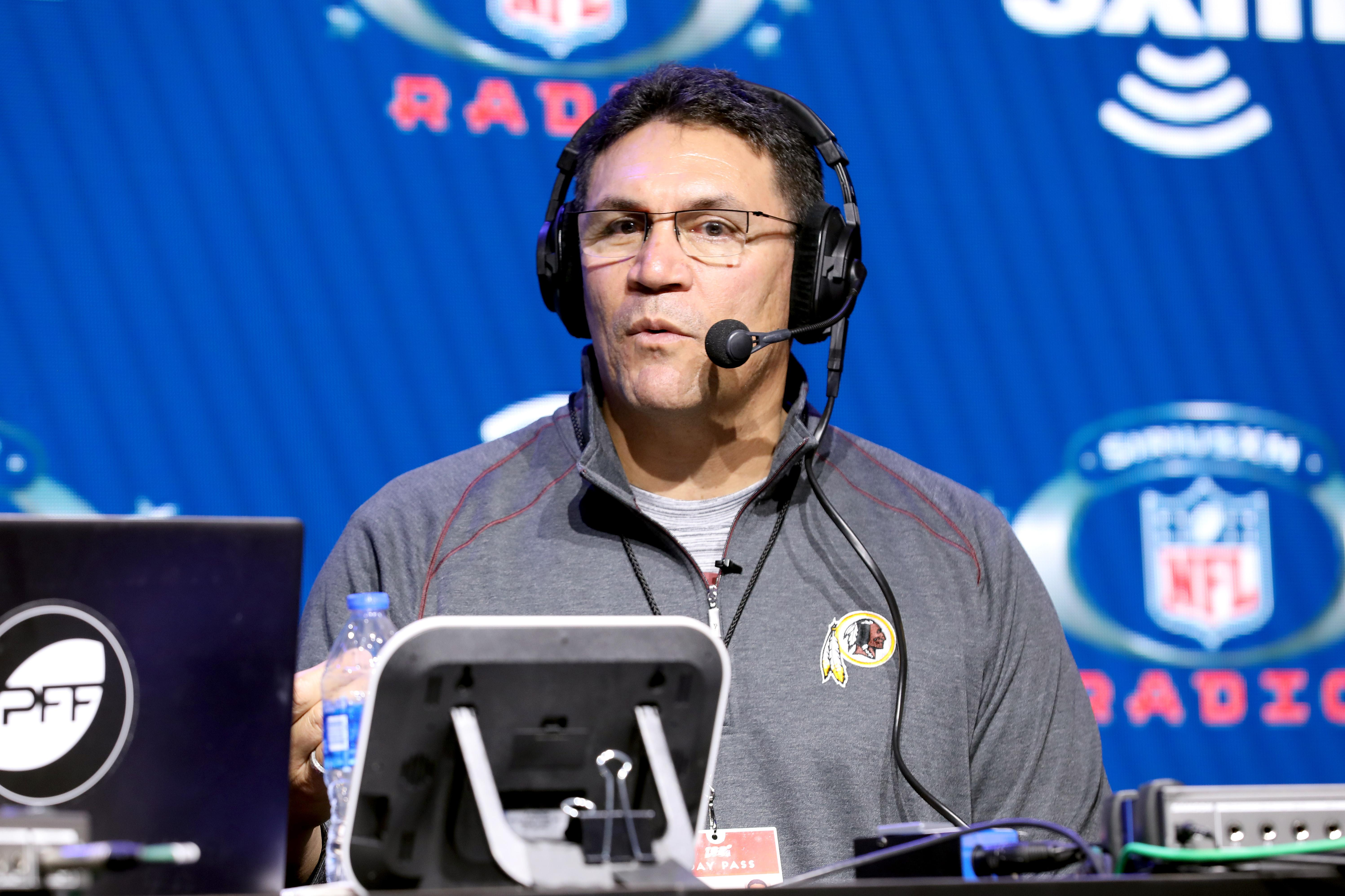 Ron Rivera reportedly gave an incredibly inspiring speech at practice on Thursday