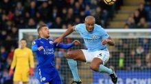 De Bruyne dazzles as Man City sink Leicester
