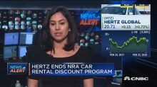 Hertz ends NRA car rental discount program