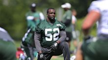 Jets cut linebacker David Harris, and his agents aren't happy