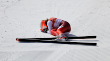 11 photos that prove downhill skiing is the most insane Winter Olympic sport