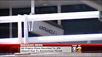 Fighter Jets Escort Air France Flight To JFK After Anonymous Threat