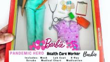 A Grandma Made Social-Distancing-Themed Barbies, and the Homeschooling Mom Edition Is Everything