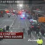 New York City officials confirm explosion near Times Squa...