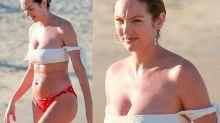 Nach Kritik an After-Babybody: Candice Swanepoel wehrt sich gegen Bodyshamer
