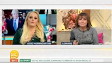 Lorraine Kelly Tears Into Jennifer Arcuri Live On Good Morning Britain For Evading Questions