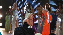 VIDEO: Mira por qué la nueva Miss USA terminó en el piso en su coronación