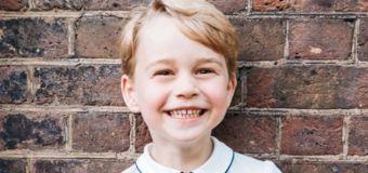 Prince George's adorable birthday portrait