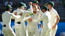Lyon strikes to put Australia on course for victory in Perth