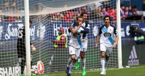 Foot - ESP - 35e j. - Liga : tenue en échec par Osasuna, La Corogne n'est pas encore sauvée