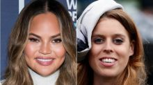 Chrissy Teigen Royally Freaks Out Over Princess Beatrice's Unexpected Twitter Reply