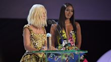 Jennifer Lopez, Naomi Campbell and Lady Gaga honour Donatella Versace at Fashion Awards