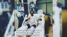 Teen dances to the beat after lifesaving heart transplant