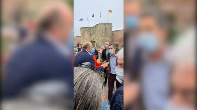 Hauts-de-France : Dupond-Moretti et Pannier-Runacher interpellés sur un marché par Ruffin