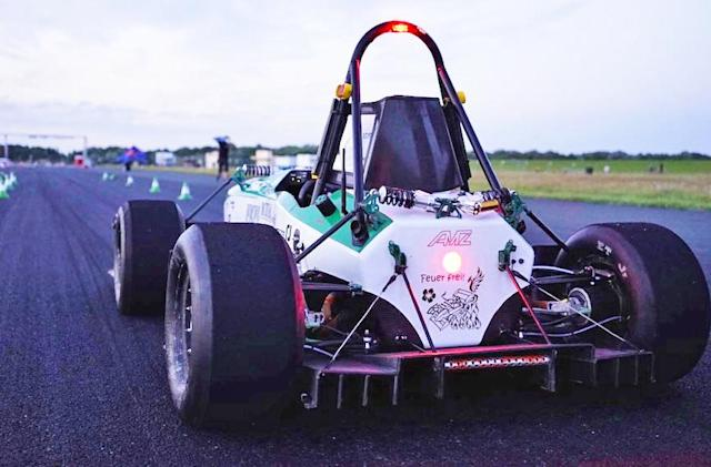 Watch this EV racer go from 0-100 KPH in under two seconds