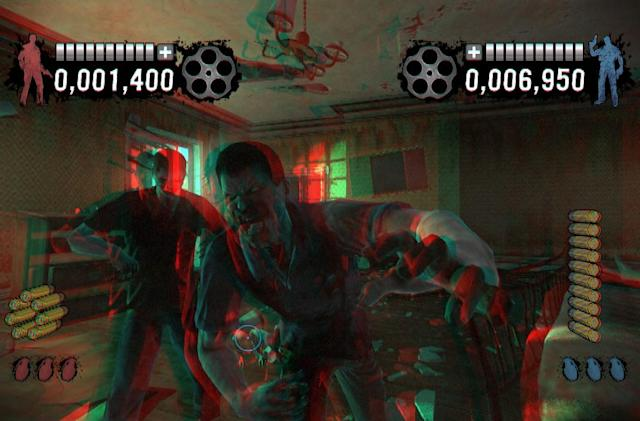 House of the Dead: Overkill - Extended Cut supports anaglyph 3D