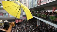 China stays mum as Hong Kong protests against extradition bill