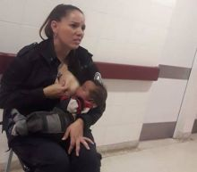 Argentine Police Officer Breastfeeds Malnourished Baby in Kind Gesture