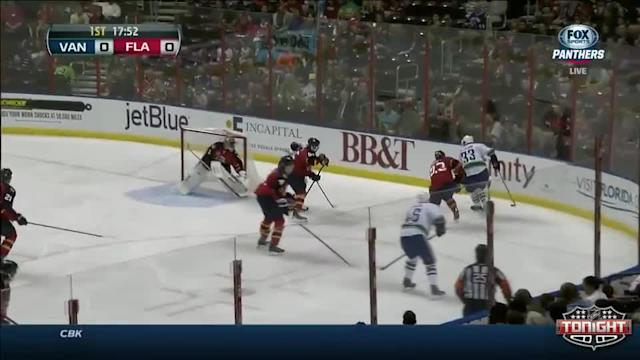 Vancouver Canucks at Florida Panthers - 03/16/2014