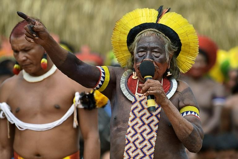 Indigenous leader Raoni Metuktire of the Kayapo tribe (pictured January 2020) Raoni, a chief of the Kayapo people in northern Brazil, was hospitalized for weakness, shortness of breath, poor appetite and diarrhea