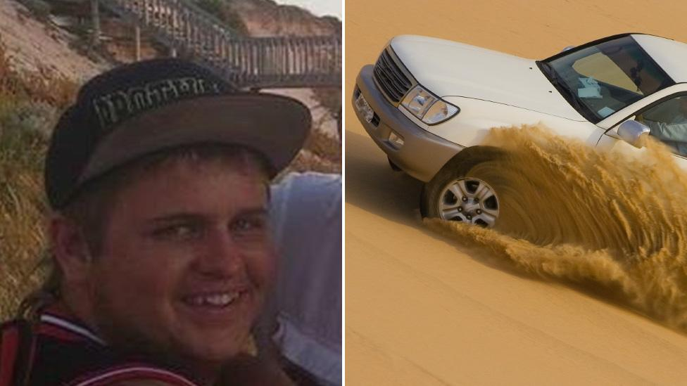 'Loving larrikan' killed after car rolls on sand dune