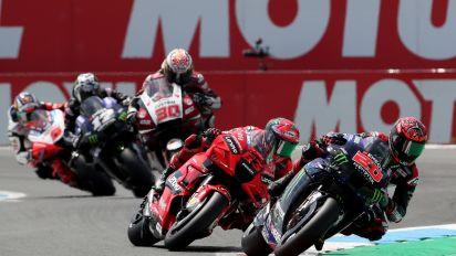 MotoGp Olanda: vince Quartararo, doppietta Yamaha con Vinales. Zarco quarto