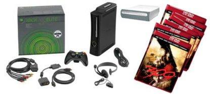 360 Elite, HD DVD player and 7 movies for $599