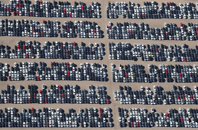 Photos show the epic scale of VW Dieselgate