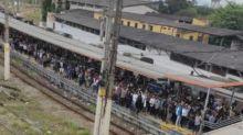 Problema técnico atrasa em quase uma hora viagem no ramal Saracuruna da SuperVia