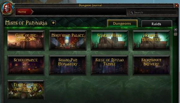 Mists of Pandaria Beta: All heroics open for testing