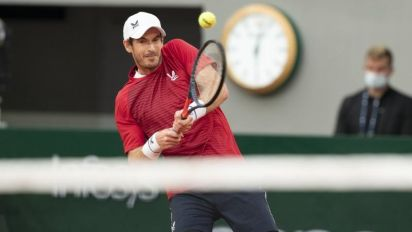Murray pulls out from Cologne event with pelvic problem
