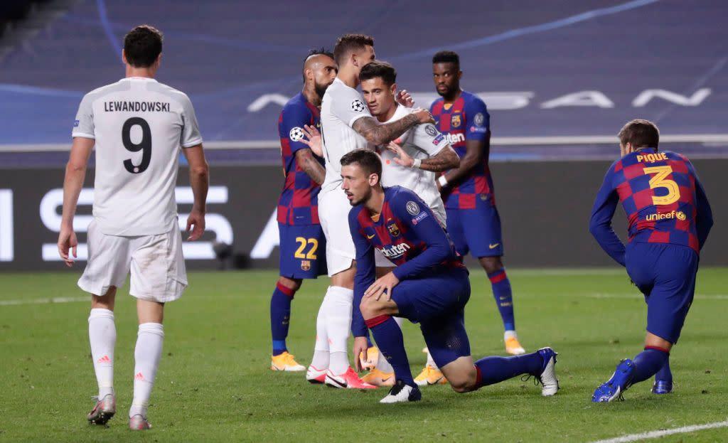 Barcelona V Bayern Munich How To Watch As Bayern Batter Barca