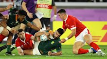 South Africa make Rugby World Cup final with tight win over Wales