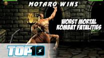 Top 10 Worst Mortal Kombat Fatalities - Top 10