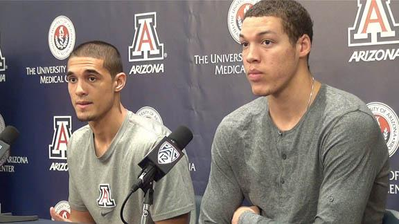Players discuss Pac-12 honors