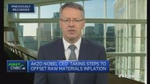 AkzoNobel CEO: Seeing some consumer 'nervousness' in Chin...