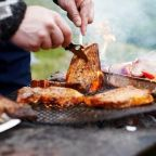 Scots can host barbecues for eight people - but guests must bring food and cannot use inside toilet