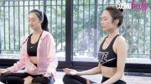 總是沒有動力?跟湯怡一起練習1分鐘觀呼吸法提升動力及集中力 - Cosmo Fit Friday