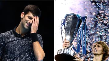 Alexander Zverev destroyed the greatest men's tennis statistic of the year when he beat Novak Djokovic