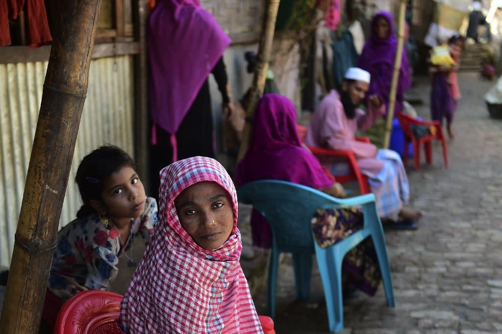 Some 232,000 Rohingya Muslims were already living in Bangladesh before more than 65,000 others began arriving in October 2016, fleeing violence in Myanmar (AFP Photo/MUNIR UZ ZAMAN)