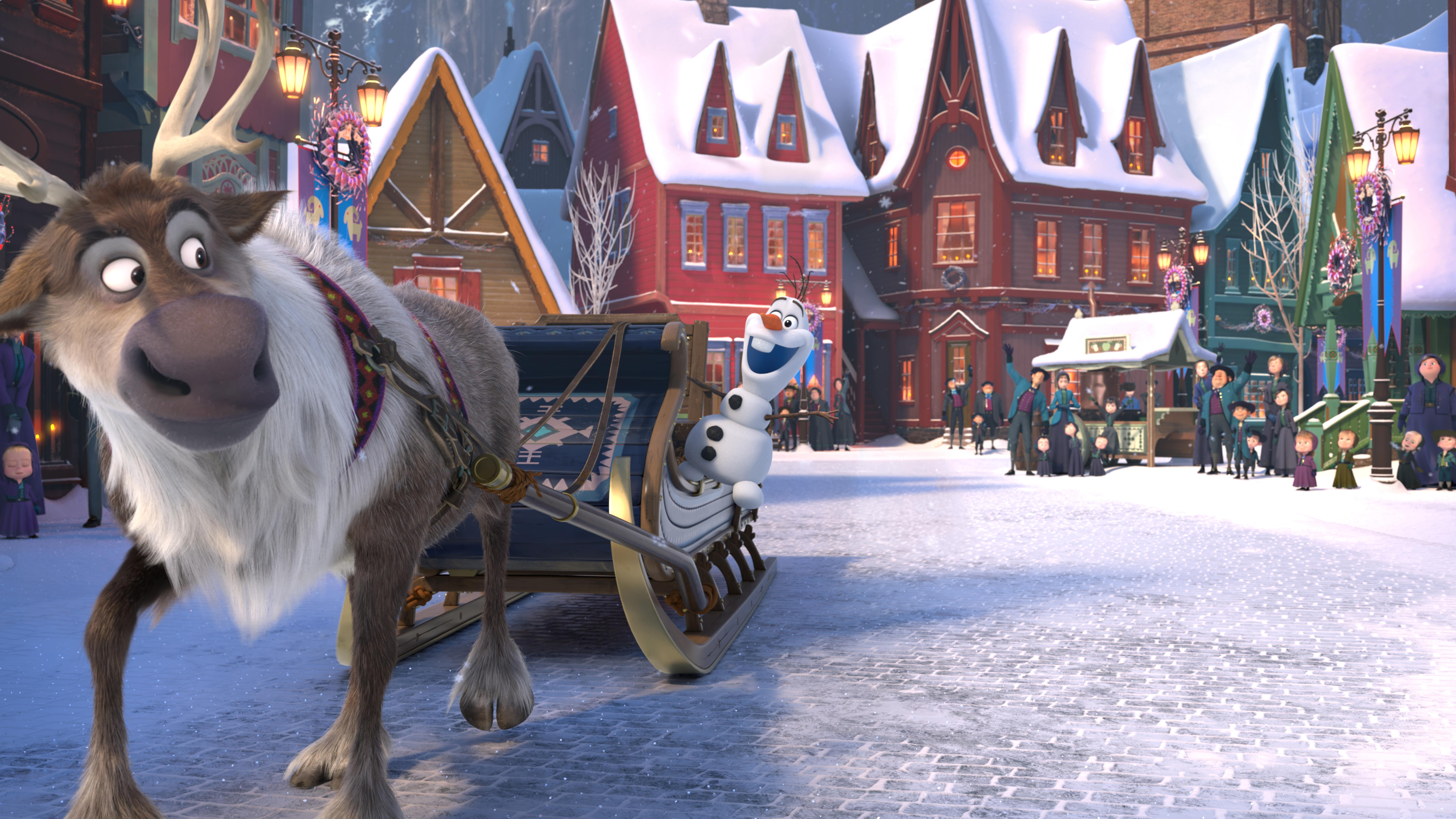 Ring in the season with these exclusive photos from \'Olaf\'s Frozen ...