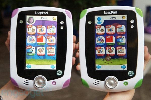 LeapFrog LeapPad Explorer tablet hands-on (video)