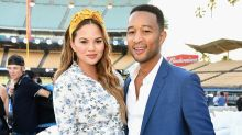 John Legend Shares Pic of 'Awesome' Wife Chrissy Teigen Pumping Breast Milk on Father's Day