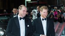 Princes William and Harry hit the red carpet for 'Star Wars: The Last Jedi' premiere